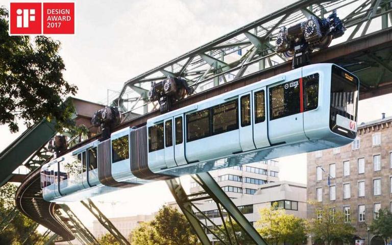 世界上最酷、也是最古老的鐵路系統!德國烏帕塔單軌電車