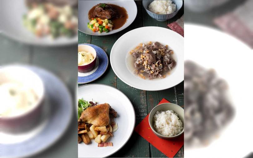 高雄法餐名廚推出中西式年菜外帶 紅燒獅子頭、羊肉松子當歸雜糧湯端上桌