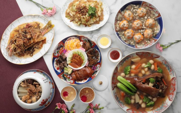 名店、飯店拚母親節外帶饗宴 星級功夫菜、國宴美饌在家吃