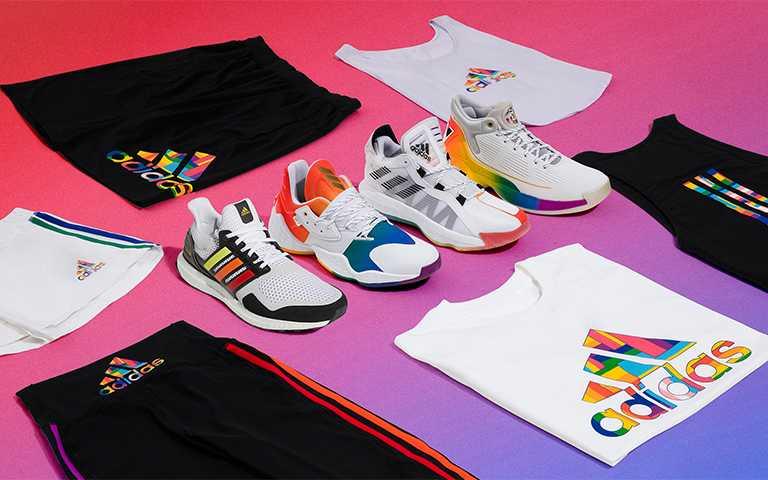 超美adidas四款「彩虹鞋」簡單搭配就夠時髦,穿上它等於穿上愛!