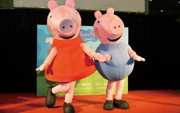 粉紅豬小妹 舞台劇放送驚喜