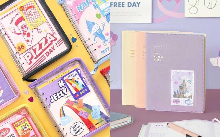 韓國「2021手帳本季」來了!除了設計師插畫手帳本很勸敗,韓國咖啡廳獨家設計版本也過分好看,只買一本根本不可能!