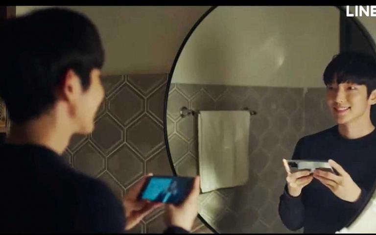 鏡中驚現詭異微笑 李準基瞳孔也有戲