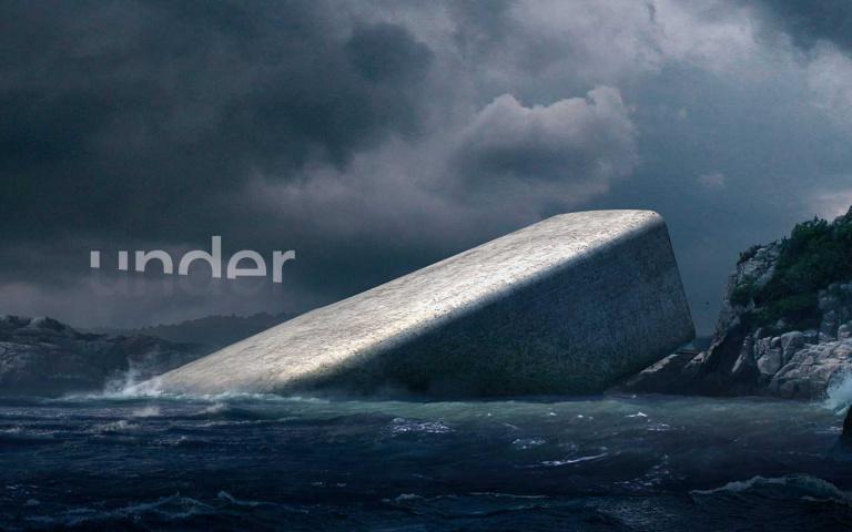 隱身冰冷海域的全球最大海底餐廳,在離地5米深海中進行一場感官之旅