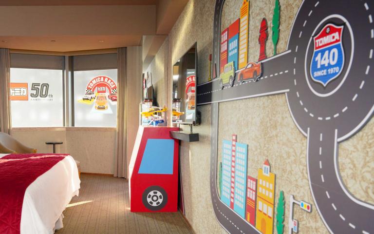 小小車迷住起來!五星酒店推出「汽車主題房」有夠萌 再送限量小汽車「模型控必須收藏」