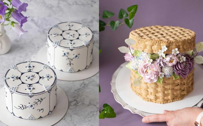 將精緻與細膩帶入蛋糕的世界!媲美藝術品的韓國花卉蛋糕