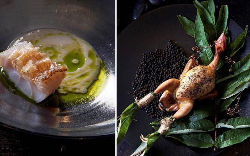 【吃新鮮】米其林名廚11/25前新菜  信義區高空餐廳雙廚秋宴  還搭御茶酒