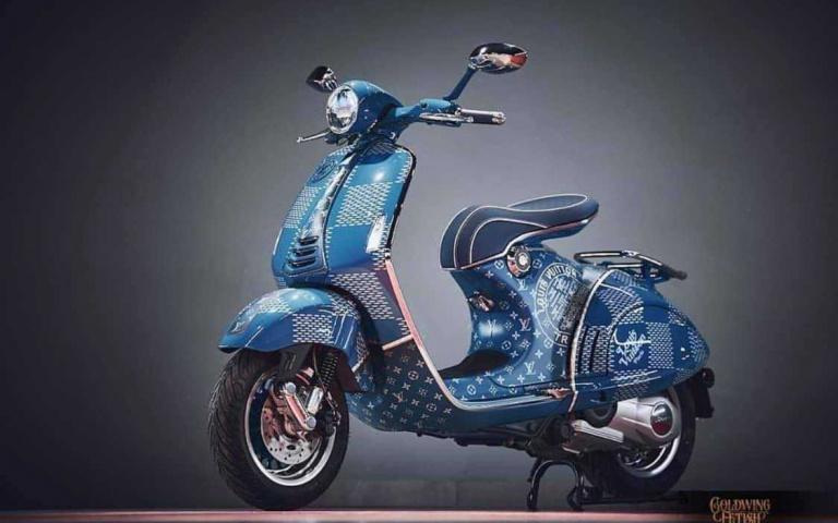 Vespa 946 又出放毒聯名 Louis Vuitton 高貴而細緻!