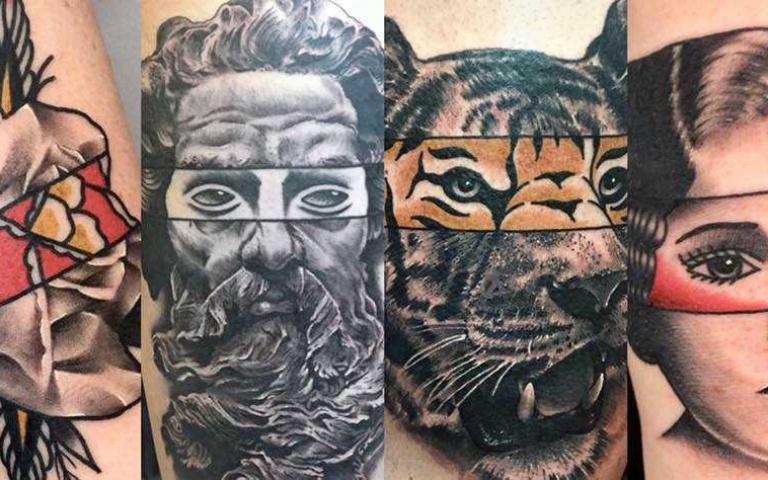 將多種風格拼接的刺青 蹦出新感受!來自巴黎的刺青藝術家Mat Rule