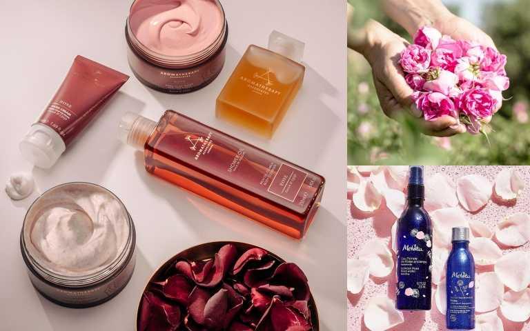 玫瑰控必買!從身體沐浴乳到髮膜、磨砂膏、護手霜、臉部玫瑰精油,讓你變身玫瑰女孩!今天地球日,Melvita買「玫瑰花粹」送「玫瑰潤澤美容液」