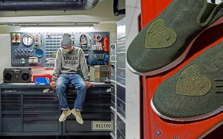 喜歡adidas Originals的復古鞋快追起來!adidas Originals與Human Made潮流鬼才Nigo 合作發佈全新鞋款 - SLIPON PURE HM,5/25上市