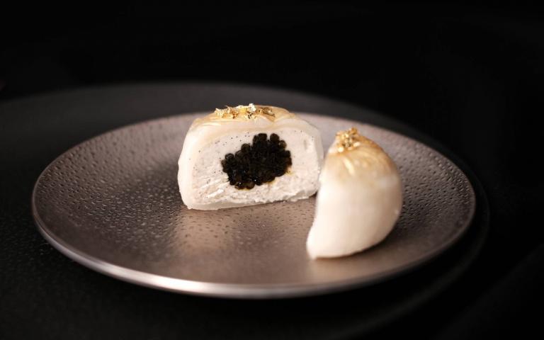 中秋月餅3/魚子醬、烏魚子入餡 奢華風月餅顛覆印象