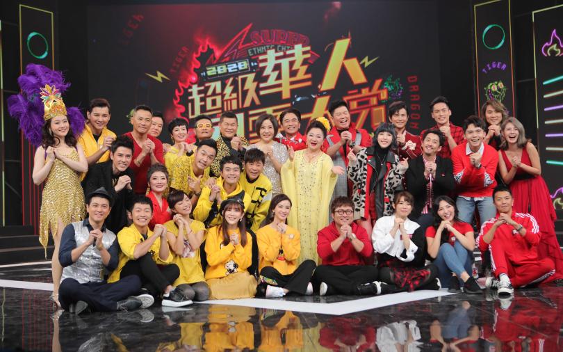 除夕節目最強主持陣容 集合兩大招牌節目PK