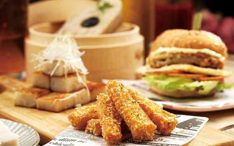 【百變虱目魚4】ONE JIA Brunch 萬佳早午餐 創意漢堡解膩提香