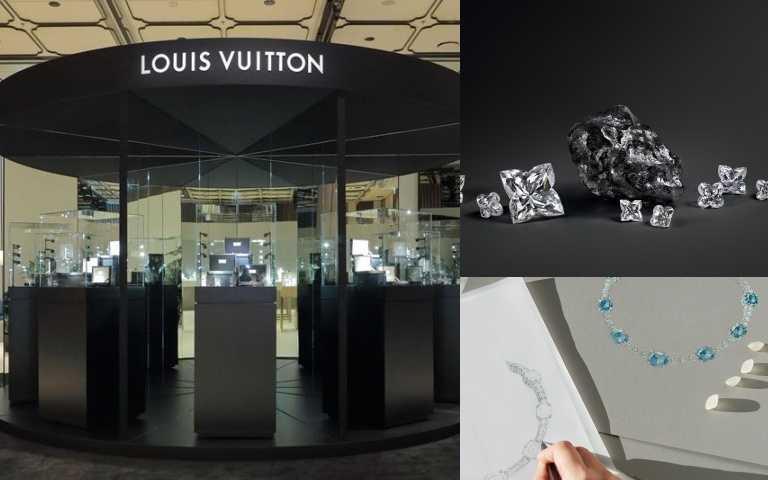 LV高級珠寶展登台,這次居然帶來世界第二大、來自20億年前的鑽石原石到場!