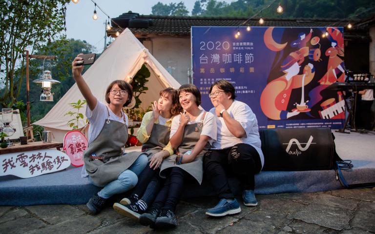 太美了啦!「2020台灣咖啡節」首創「露營野餐風」星空場 喝最新世界冠軍咖啡、買咖啡麵質感破表