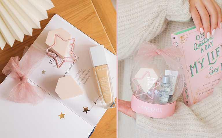 LANCOME超有誠意滿額贈!除了小ml數「小黑瓶、極光水」,還送超好用「日本獨賣粉撲」兩顆!