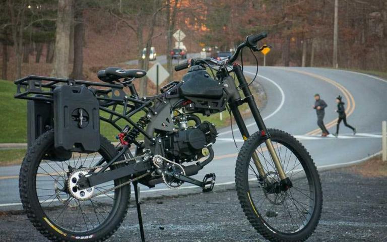 浩劫來臨 最適合的單人載具  Motoped  Survival Bike~