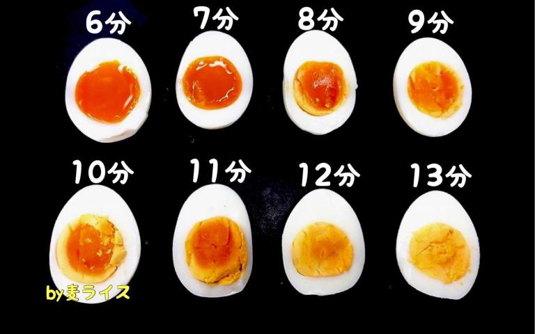 很適合印下來參考!日本廚師「水煮蛋對照時間表」