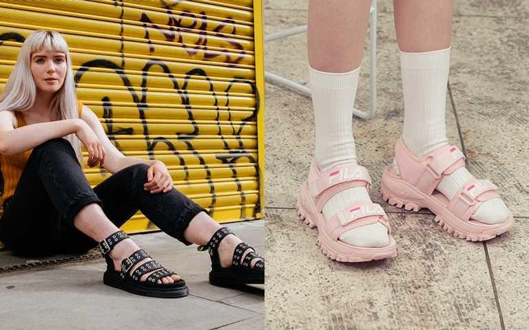 夏時尚的定番涼鞋STYLE!「馬汀涼鞋」及「厚底運動涼鞋」時尚編輯真心強推!