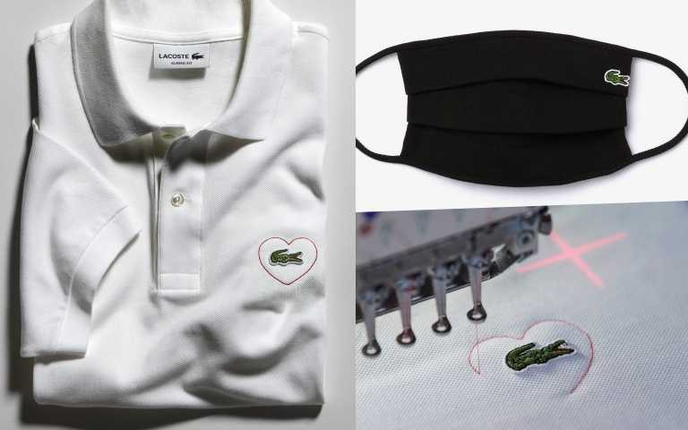 超時尚環保口罩!LACOSTE鱷魚logo防疫口罩來了,還有限量鱷魚愛心T恤,台灣同步開賣!