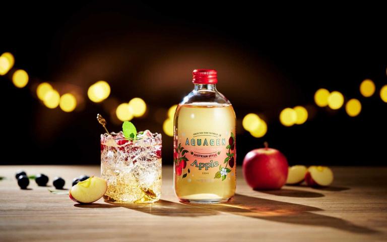 這款有厲害!氣泡水添加「膠原蛋白」奧地利香蘋風味好時尚
