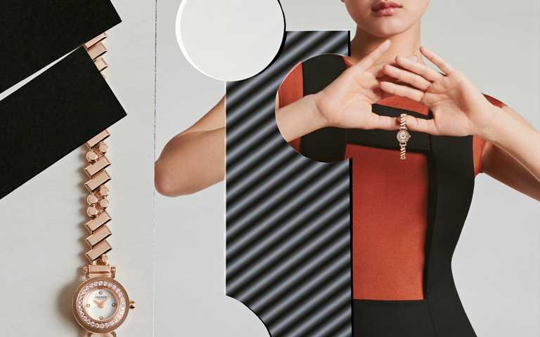 絢麗演繹鐘錶奇蹟!愛馬仕2021日內瓦數位錶展新浪潮 斜線圓點交織Faubourg Polka珠寶時限