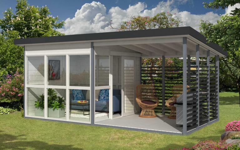 自己的房子自己蓋!超便宜「花園小屋」Amazon販售中,擁有祕密基地就是這麼簡單!
