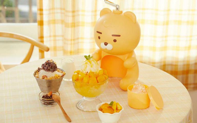每到夏天我要吃刨冰!KAKAO FRIENDS「萊恩刨冰機」登場,在家就能做出消暑聖品!