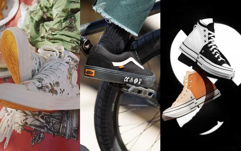 Converse、Vans強推多重聯名企劃!充滿生活感的鞋款設計時尚更好搭!