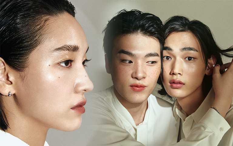 美妝界也玩「無性別彩妝」趨勢,用無色護唇膏、透明眉膠畫出超強態度