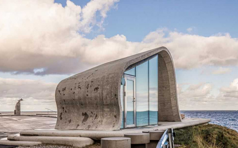 世界最美公廁在挪威,這次真的不用憋氣就可以進去了!