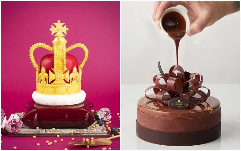 華麗到捨不得吃!母親節最強甜點「女王蛋糕」 奪下全台蛋糕大賽冠軍