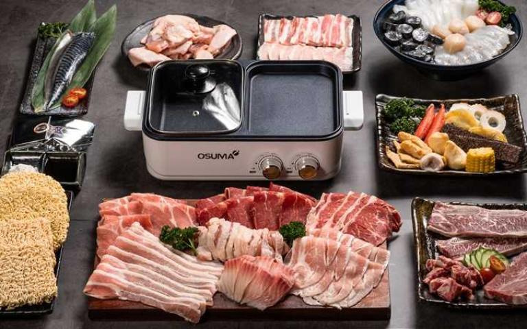 最強跨界聯名!胡同燒肉X築間鍋物超狂「火烤組合」,連「兩用鍋」都免費送