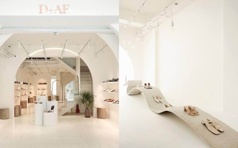 約會打卡熱點又+1!D+AF斥資千萬打造「全台最美鞋店」,把韓國網美咖啡廳零死角美景都搬來中山站