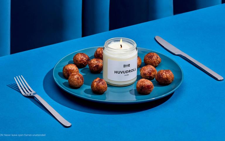 鼻子懷孕了!IKEA推出「小肉丸香氛蠟燭」餓到你抓狂,沒錢吃飯就吸空氣吧!