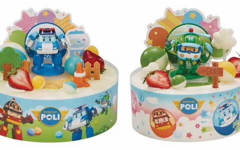 太可愛了吧!超萌「波力機器人公仔蛋糕」開賣 限量6萬5千組