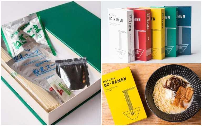 開卷有泡麵!以書本包裝的Marutai拉麵,顛覆你對包裝的想像!