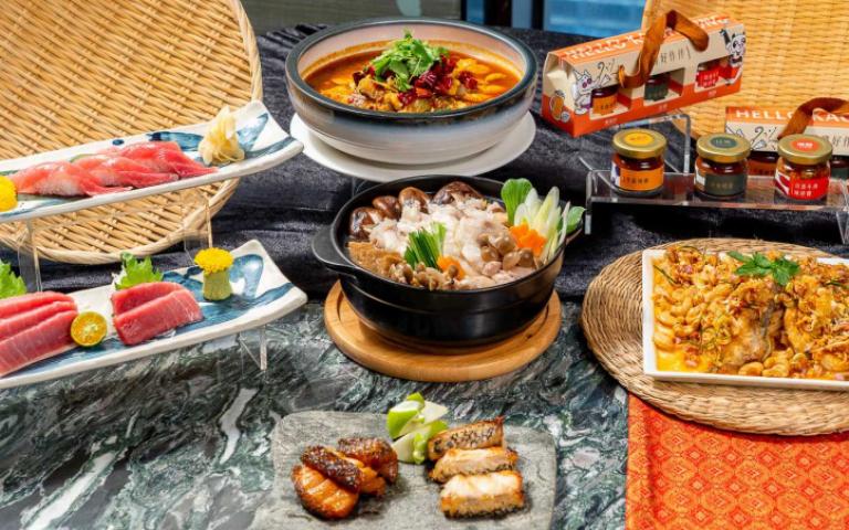 除了鮭魚,這幾種魚也很美味!兩大自助餐廳推龍膽石斑、現流海魚料理吃到飽
