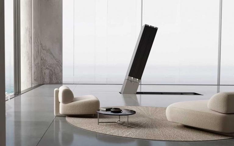 藏在地板下的電視機!零體積絕不佔空間,一台竟要價1140萬台幣!