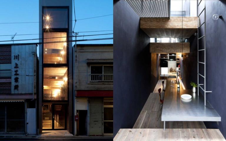 寬度僅1.8米又如何!東京「苗條屋」內部超豪華,成「夾縫中求生存」最佳典範!