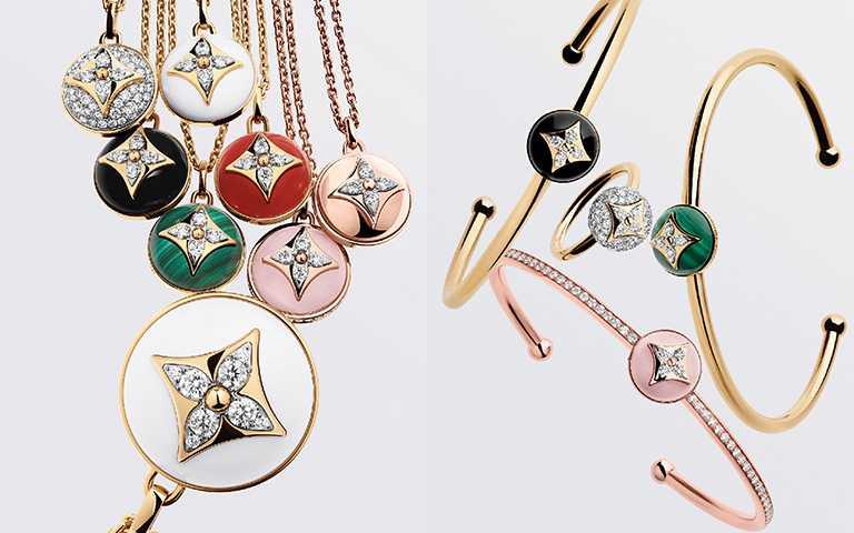 花系列珠寶溫柔新亮點!路易威登「B Blossom」多層次玩轉粉紅蛋白石、縞瑪瑙及孔雀石