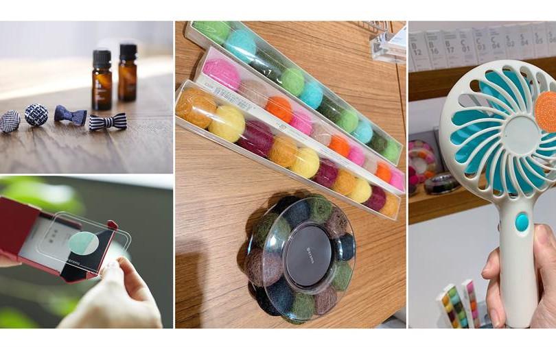 香氛別針、香氛貼紙、擴香磁鐵...日本居家香氛品牌@aroma的每一款香氛小物都好燒啊!!