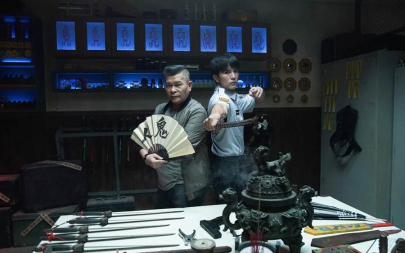 邱澤當通靈警探 蒐集各種抓鬼武器