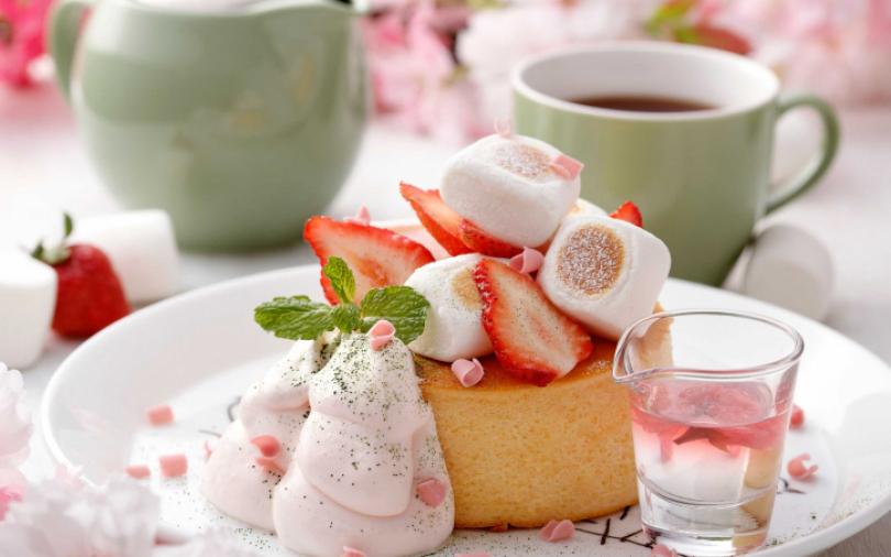 用味蕾賞櫻吧!全新研發櫻花系列厚鬆餅、飲品 3月起限定販售