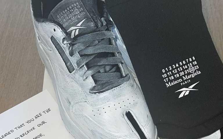 好萊塢名人曬新鞋!Reebok聯名精品時裝Maison Margiela,經典鞋款上多了分趾設計,大玩創意時尚!