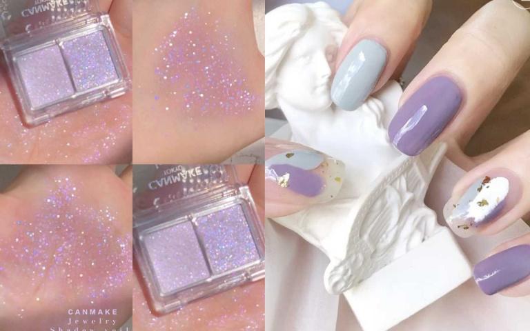 夏天最愛清涼仙氣紫!不管是眼影、唇蜜還是指甲油全都美翻了