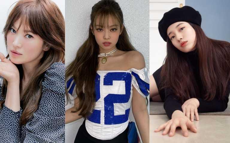 秀智、BLACKPINK JENNIE、宋慧喬都染了韓國最流行的『蜜茶棕髮色』!秋冬想變白耍韓就是這色了!