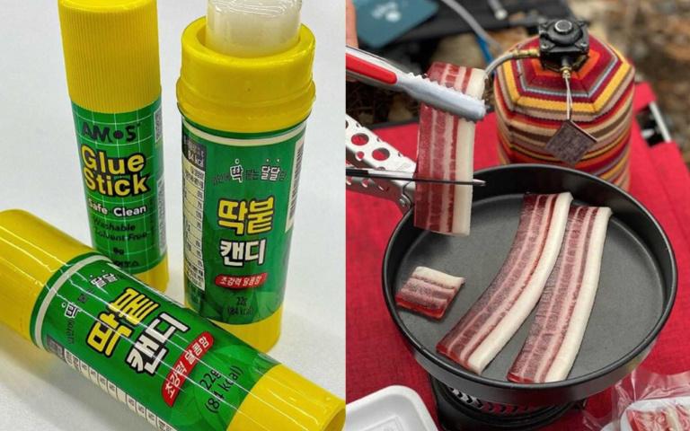 韓國人也來拚創意!「口紅膠糖果」、「五花肉軟糖」成最夯整人玩具啦!