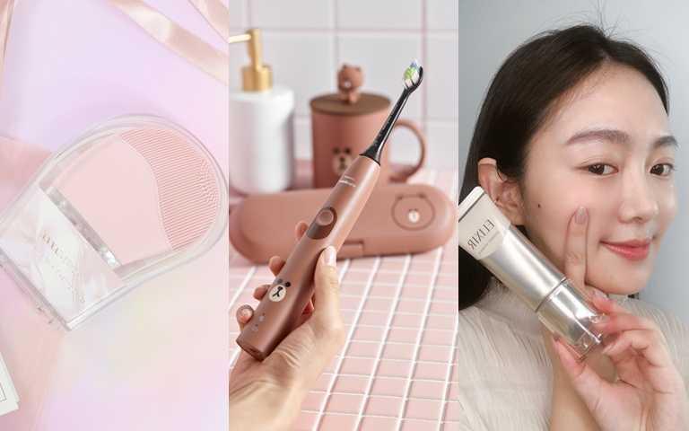 超可愛熊大電動牙刷、自帶按摩儀的瘦臉神器…網友讚爆可以快速變美有感的美容小助手就是它們了!